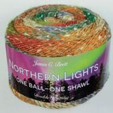 JAMES BRETT NORTHERN LIGHTS 150 GRAM BALL (NL04)