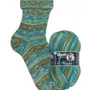 OPAL GLITTER WITH SIVER EFFECT 4PLY SOCK WOOL GLAMOUR (9673)