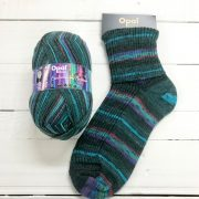 OPAL 4PLY SOCK WOOL 100 GRAM BALL SYMPHONY OF DREAMS RAGING SEA (9615)