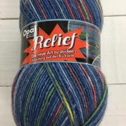 OPAL 4PLY SOCK WOOL 100 GRAM BALL RELIEF (9491)