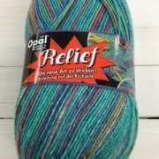 OPAL 4PLY SOCK WOOL 100 GRAM BALL RELIEF (9494)