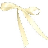 BERTIE BOWS DOUBLE FACED SATIN RIBBON 15MM IVORY