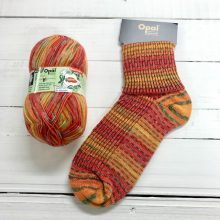 OPAL 4PLY SOCK WOOL 100 GRAM BALL RAINFOREST 14 SACHA (9627)