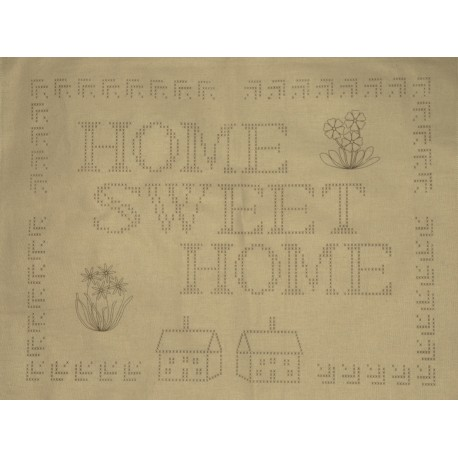 1 X SAMPLER HOME SWEET HOME
