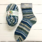 OPAL SCHAFPATE 10 4PLY SOCK WOOL EMMA SINGS HAPPY BIRTHDAY (9604)
