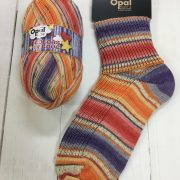OPAL 4 PLY SOCK WOOL 100 GRAM BALL COLOURS IN LOVE SWEET LIFE(9511)