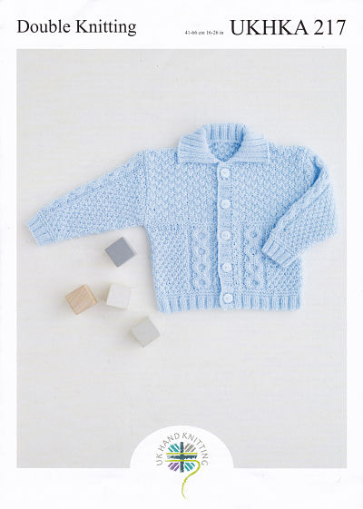 UKHKA BABIES DOUBLE KNITTING PATTERN (UKHKA217)