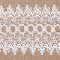 DOVERCRAFT KNIT IN LACE WHITE