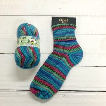 OPAL 4PLY SOCK WOOL 100 GRAM BALL RAINFOREST 14 ZOEY (9622)